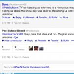 When a School Board is Cool on Twitter: Snow Day with @PeelSchools