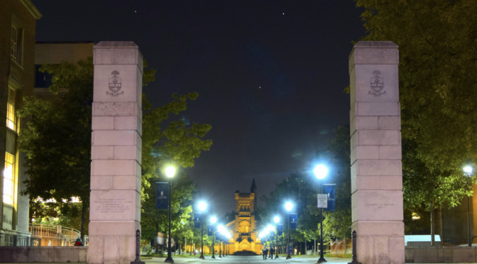University of Toronto at Night